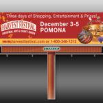 billboard harvest festival pomona