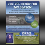 flyer israel tax admin services