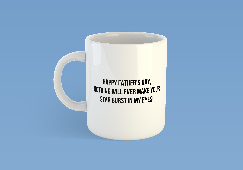 cup white starburst